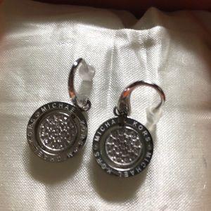 Michael Kors Silver Flip Glitz Earring